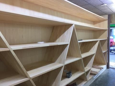 20160223旧荒川金物店さんの棚製作
