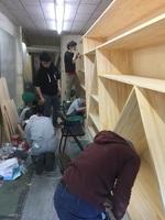 20170225旧荒川金物店塗装作業