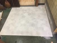 20171009かんでらハウス床材貼りのテスト